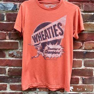 """SAVVY """"Wheaties Breakfast of Champions"""" T-Shirt"""